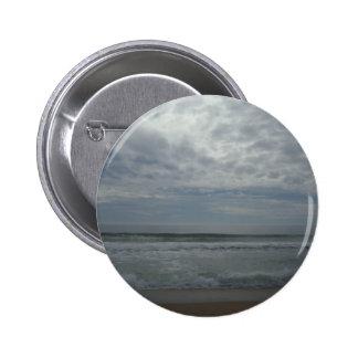 Overcast Beach Sky Button