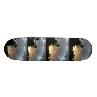 Overcast Morning in Kentucky Skateboard Deck