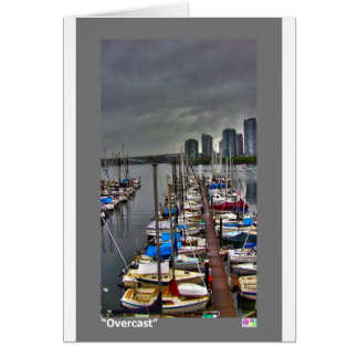 """Overcast Note Card 4"""" x 5.6"""""""