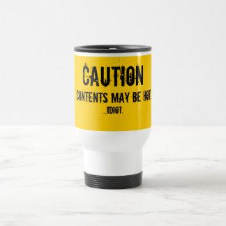 Overcautious World Cup 15 Oz Stainless Steel Travel Mug