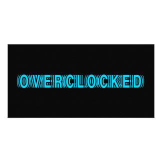 Overclocked blue card