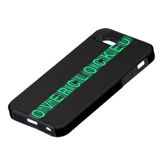 Overclocked green iPhone SE/5/5s case
