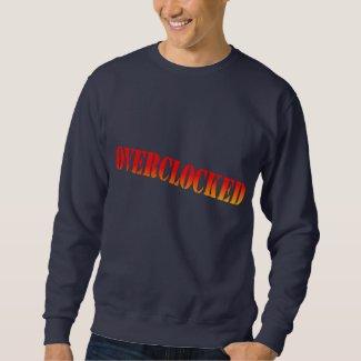 overclocked pull over sweatshirts