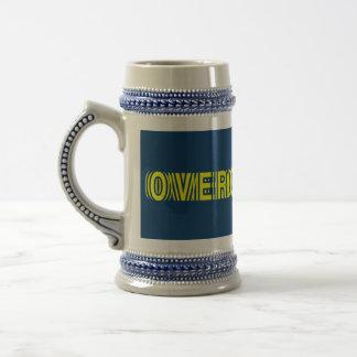 Overclocked yellow coffee mugs