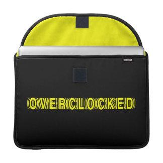 Overclocked yellow sleeve for MacBooks