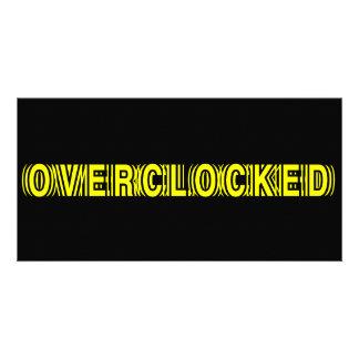 Overclocked yellow photo cards