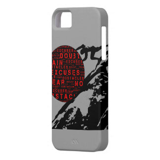 Overcome all Excuses Phone Cover iPhone 5 Covers