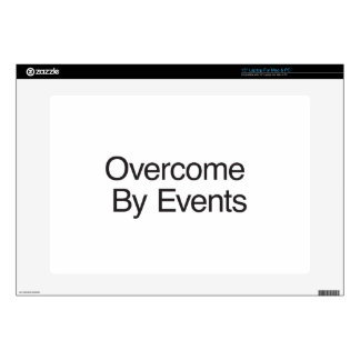 Overcome By Events Laptop Decals