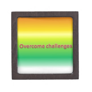overcome challenges jewelry box