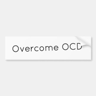 Overcome OCD Bumper Sticker