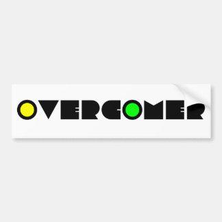 Overcomer Bumper Sticker
