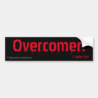 Overcomer! Christian Bumper Sticker