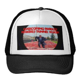Overcoming Hurdles Cap Trucker Hat