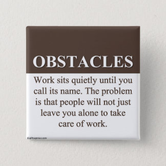 Overcoming Obstacles to Success (3) Button
