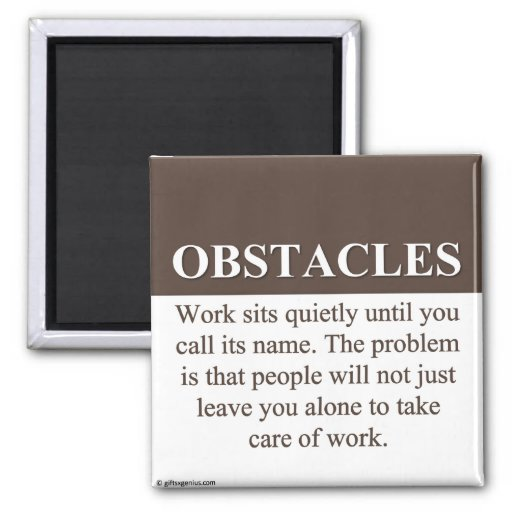 Overcoming Obstacles to Success (3) Magnets