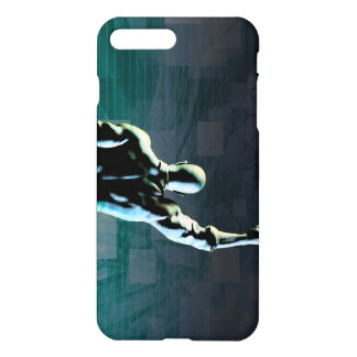 Overcoming Obstacles with Man Achieving Success iPhone 8 Plus/7 Plus Case