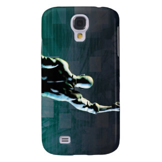 Overcoming Obstacles with Man Achieving Success Samsung Galaxy S4 Cover