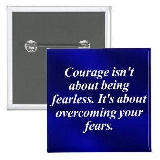 Overcoming Your Fears 2 Inch Square Button