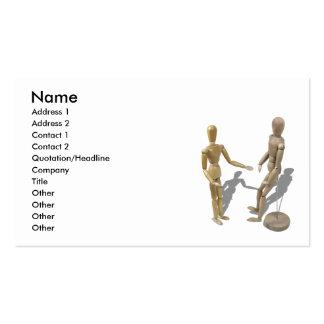OvercomingLimitations081510, nombre, dirección 1,  Plantilla De Tarjeta Personal