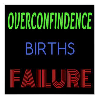 Overcondifence Poster