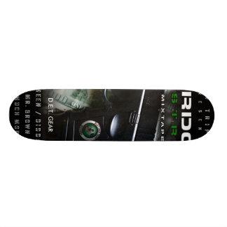 overdosin the streets cover, D.E.T. GEAR Skateboard