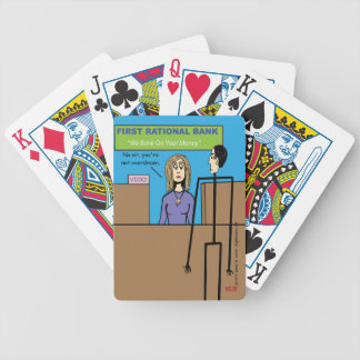"Overdrawn"" Bicycle Playing Cards"