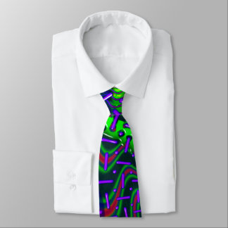 Overdrive 3D Optics Fractal Tie
