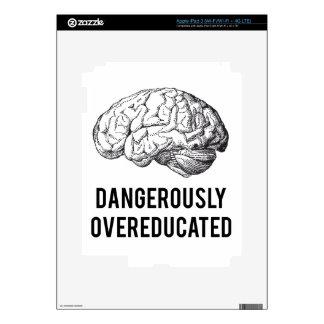 overeducated peligroso iPad 3 skins