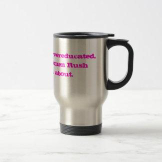 Overeducated Woman's Mug