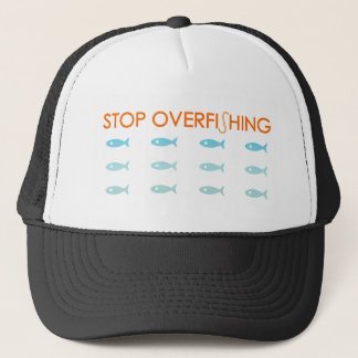 Overfishing Trucker Hat
