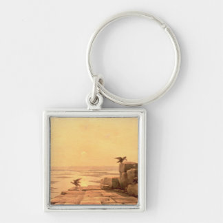 Overflow of the Nile, 1842 Keychain