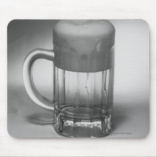 Overflowing beer glass mousepads