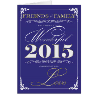 Overflowing Love Holiday Greeting Card