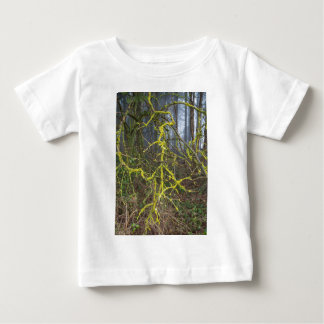 Overgrown branches with green moss baby T-Shirt