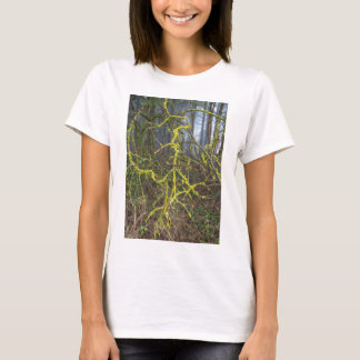 Overgrown branches with green moss T-Shirt