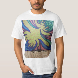 Overgrown Men's White T-shirt