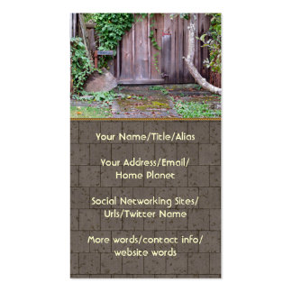 Overgrown Shed Double-Sided Standard Business Cards (Pack Of 100)