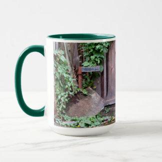 Overgrown Shed Mug