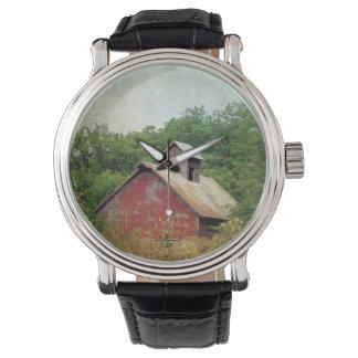 Overgrown y abandonado relojes de mano