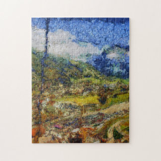 Overhead view from a cable car jigsaw puzzle