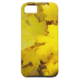 Overhead view of a foot in the autumn boots three iPhone SE/5/5s case