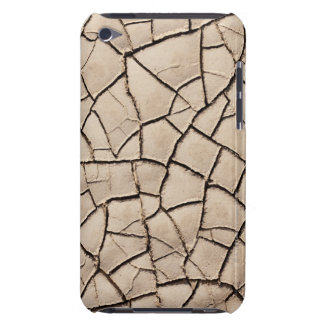 overhead view of cracked earth on a desert iPod Case-Mate case