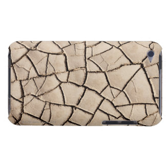 overhead view of cracked earth on a desert iPod touch case