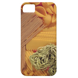 Overhead view of various pasta iPhone 5 cover