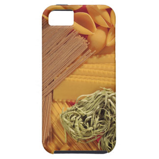 Overhead view of various pasta iPhone 5 case