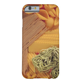 Overhead view of various pasta barely there iPhone 6 case