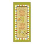 Overheard in an Orchard (Robin & Sparrow) Bookmark Invites