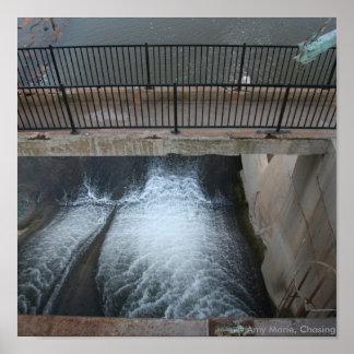 Overholser Dam Poster