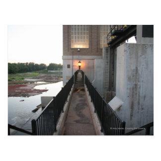 Overholser Dam Walkway Postcard