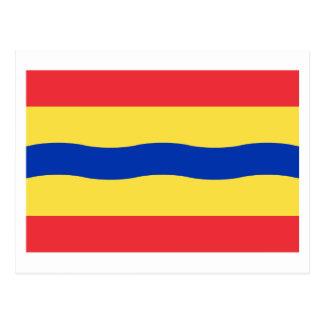 Overijssel Flag Postcard